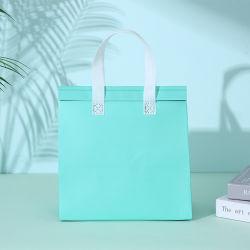 الغداء حقيبة غير منسوجة عزل مبرد الطعام في الهواء الطلق صديق للبيئة حقيبة حفظ الحرارة أثناء السفر