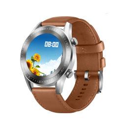 Gt2 Amazon H53 de alta calidad correa de cuero NFC Smartwatch el reconocimiento de voz llena la pantalla táctil resistente al agua reloj electrónico