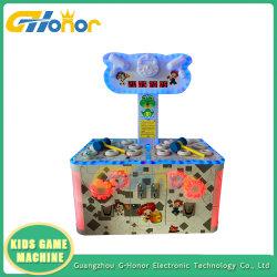 El lujo de 2 jugadores Arcade golpeando un martillo de Rana Martillo máquina de juego de monedas Arcade Hammer máquina de juego Arcade de la redención de la máquina Juego de Lotería
