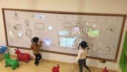 Jogo de projecção de parede interativo para playground coberto e museu interactivo, Jogos de projetor interativo