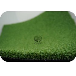 Anti-UV putting green de golf de gazon artificiel