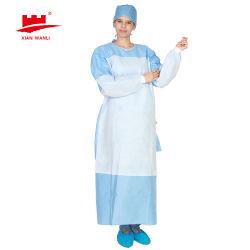 Bata Médica bata quirúrgica Doctor Bata Tejida SMMS 35g de nivel 2 de la AAMI Eo estériles con mejor precio y calidad