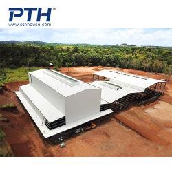 Стальные конструкции здания Дома сборные дома промышленного потенциала промышленных пролить свет стальная рама