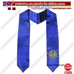 Lenço de moda Senhora Cachecol Escola Stoles lenço lenço bancária fábrica grossista (C1025)