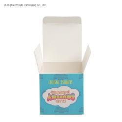 أبيض مخصص رخيصة 350GSM درج الورق كائنات صغيرة الوزن علبة التعبئة الخاصة بلوح العاج