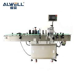 Pet plástico adhesivo para automático automático vertical Cuadrado redondeado a doble cara plana de la máquina Impresora de etiquetas Etiquetas para envases de vidrio plástico