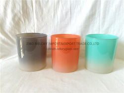GRC 색상의 Candle Holder Voitive Glass
