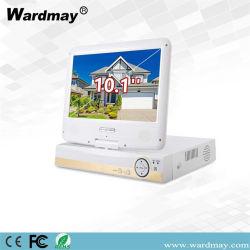 10inch LCD 스크린을%s 가진 1개의 PC 기반 통신망 CCTV 기록 DVR에 대하여 Wardmay 4chs 5