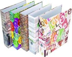 Conception unique de 2''/3''A4 dossier de fichiers papier coloré avec logo personnalisé