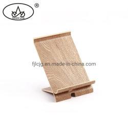 Dois pedaços de madeira Artesanato Carro Celular dons de madeira caso do suporte dos acessórios para o Office