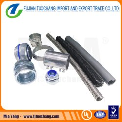 Recubierto de PVC flexible Conduit metálica G. I.