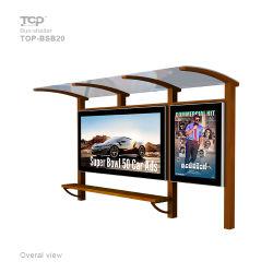 Outdoor Street Furniture Pubblicità Bus Shelter
