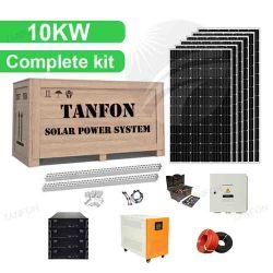 Completo off Grid 5kw 10kw 20kw sistema solare domestico Solar Sistema di energia solare da 15000 W per la casa