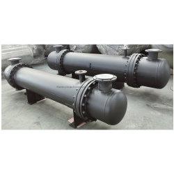 Scambiatore di calore a tubo e guscio a spirale in acciaio inox industriale per Scambiatore di calore acqua-olio riscaldatore ribollitore condensatore evaporatore