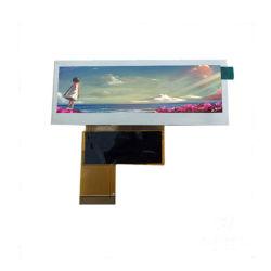 3.9 Polegada Bar tipo tela LCD de instrumentos 480*128 para carro Monitor de Áudio