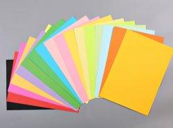 수공예를 만들기를 위해 이용되는 색깔 종이, 사무실 문서와 서류상 문구용품 인쇄