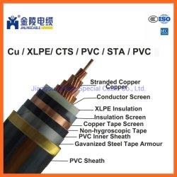 8.7/15kv XLPE Cabos de média tensão cabos de cobre de núcleo único