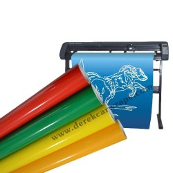 Anolly 80 micras 120 g mate satinado colores de Vinilo adhesivo PVC artesanales