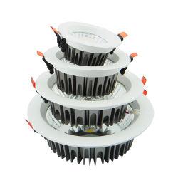 تجويف مرتد 8 بوصات بقوة 15 واط وقوة 15 واط وقوة 20 واط ضوء LED الضوئي لأسفل من نوع Cob