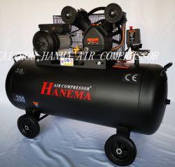 エアコンプレッサ 50 ガロン /200 リットルビッグパワー 400V 三相銅線 CE V2090 5.5HP ドイツ標準ベルト駆動エアコンプレッサ