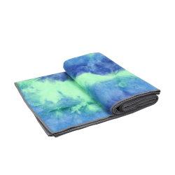 China Proveedor de Toallas de microfibra hot yoga Mat con puntos de silicona antideslizante