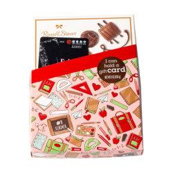 Contenitore impaccante di carta del regalo della scheda di cioccolato di carta della caramella