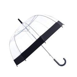 De duidelijke Paraplu van de Bel, de Duidelijke Paraplu van de Koepel van het Huwelijk van de Paraplu Bulk Wind, Transparante Duidelijke met de Versiering van de Kleur voor Vrouwen en Jonge geitjes