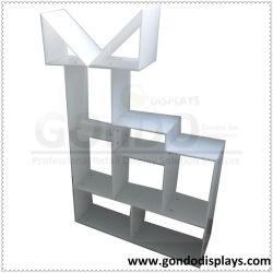 Forme spéciale Exposition d'utilisation quotidienne d'injection plastique de cristal de Plexiglass PMMA PC Perspex composent produit acrylique de haute qualité de l'organiseur avec 45 degré commun de la colle