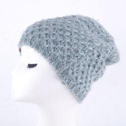 نمو دافئ شتاء [نيت] قبعة أكريليكيّ مختلطة