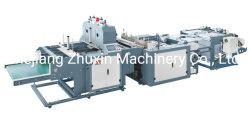 Automatische zwei Zeilen Hochgeschwindigkeitsheißsiegelfähigkeit-Wärme-Ausschnitt-Shirt-Beutel-Maschine für gedruckten Beutel