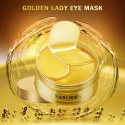 24K Gold Eye Mask коллагена спящий глаз патч кувшин Золотой Crystal гель питательный глаз подсети