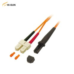 Optic Sc/Jumper Duplex MTRJ patch cord único molde/Multimodo Upc/APC 2,0mm 3,0mm de Fibra Óptica