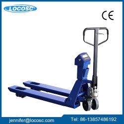 1000kg 2tonne en acier renforcé de biens mobiliers Transpalette électrique portable balance de pesage