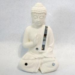 En gros le bouddhisme polyresin decoration Statue de Bouddha, résine Statues de Bouddha laiton