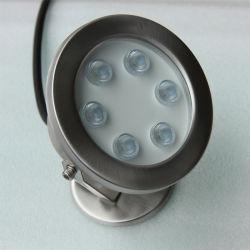 LED Branco Quente de 18W debaixo de luzes de Spot com impermeável IP68
