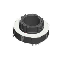 車の空気調節の機能選択のためのLEDが付いている48mmの空のサムホイールの回転式電位差計