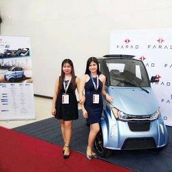 Homens e Mulheres 100km Gama Automóvel eléctrico com 2 lugares