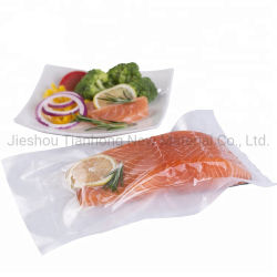 De samengestelde Plastic Zakken van de Verzegelaar van het Verpakkende Materiaal van het Voedsel In reliëf gemaakte Vacuüm voor Vlees/Vissen/Groente