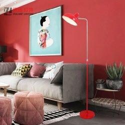 Страны Северной Европы металла в стиле современной гостиной на прикроватном мониторе постоянного напольная лампа