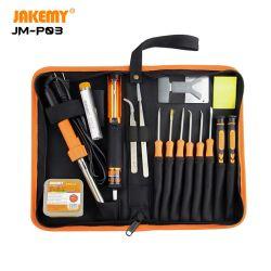 Jakemy 23 in 1 이동식 기본 DIY 용접 툴 세트 납땜 인두 키트 포함