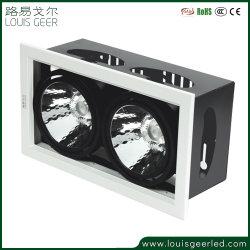 Коммерческого применения внутри помещений светодиодная лампа LED легкий проектор на потолке 12W 24W 36W квадратных регулируемый мини встраиваемый светодиодный индикатор на потолке початков фары коммерческих светодиодного освещения