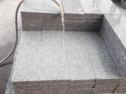 Pietra del granito G655/mattonelle grige del granito per la pavimentazione/rivestimento parete/del paracarro