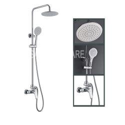 Casa de banho de luxo alça dupla ducha de banho de alta qualidade de Latão