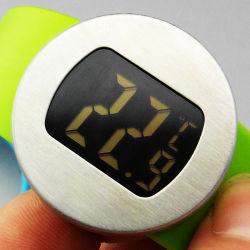 CE 認証取得済みのデジタル LCD ディスプレイワインボトル温度計