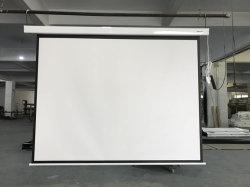 Beweglicher an der Wand befestigter elektrischer Projektor-Bildschirm