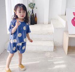 Mädchen-koreanische Art gestrickte Klage-zweiteilige Klage Homewear Kleidung