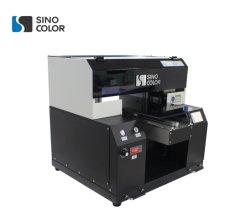 A2 УФ планшетный принтер оф-600c для металлических/керамические и стеклянные/дерева/пластик/PVC с Dx7 головки блока цилиндров