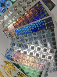 De kleurrijke het Vervalsen van het Hologram van de Druk 3D AntiSticker van het Etiket van de Veiligheid van de Laser