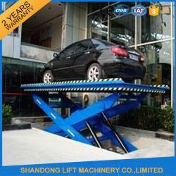 2.5t 3m het Hydraulische Systeem van het Parkeren van de Auto van de Lift van de Auto Automobiele Verticale