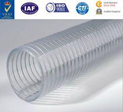 PU-flexible Kanalisierung-Schlauch-Uräthan-Schlauch-Polyurethan-Rohr PU-Leitung mit Stahlnetzkabel
